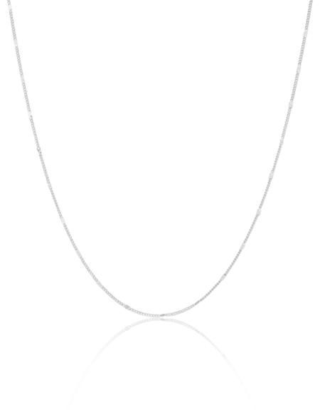 Jenny Bird Malia Stamped Chain Necklace
