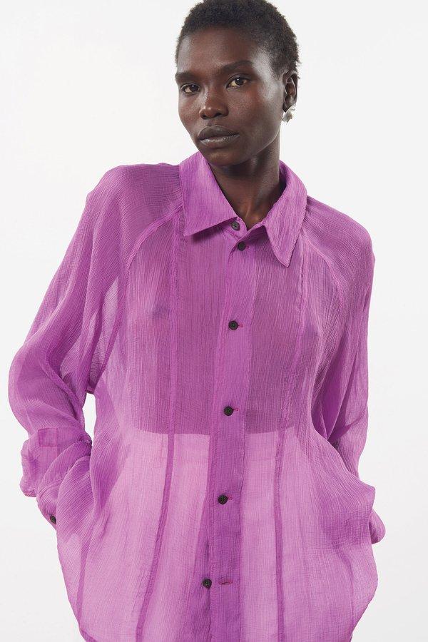 Mara Hoffman Nazaret Top - Purple