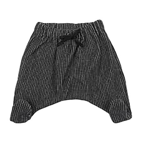 Kids Album di Famiglia Ghettina Footed Pant - Almost Black