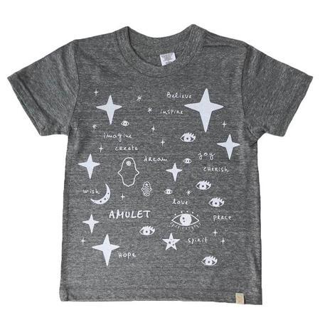 Kids Atsuyo Et Akiko Team Amulet Tri-Blend T-shirt - Grey