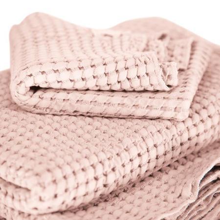 Autumn Paris Large Honeycomb Towel Kit - Pink