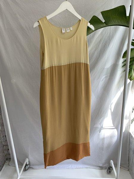 Vintage Silk Tank Dress