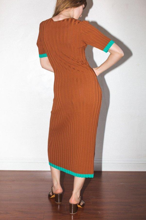 No.6 Jasper Ribbed Dress