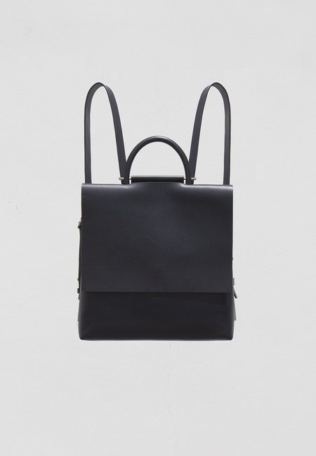 Building Block Mini Rucksack - Black