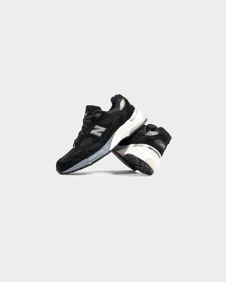 New Balance M992BL Sneakers - Black/Grey
