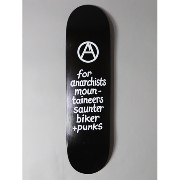 Mountain Research Skateboard - Black