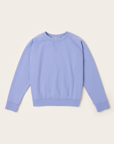 Richer Poorer Crew Sweatshirt - Electric Violet