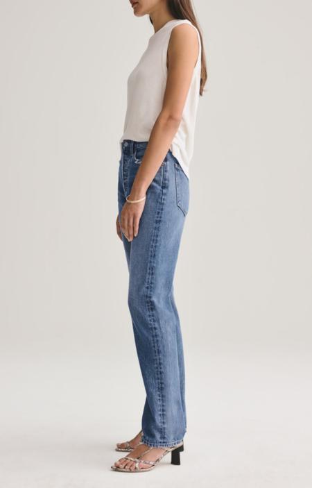 AGOLDE Lana Vintage Straight Leg Jeans - Vignette