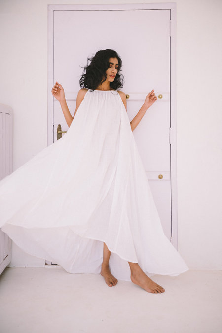 A Perfect Nomad Backless Syros Dress