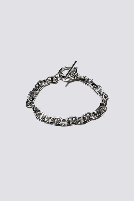 MAPLE Sterling Chain Link Bracelet - Sterling Silver