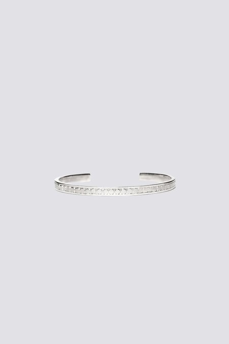 MAPLE Sterling Dots Bangle - Sterling Silver