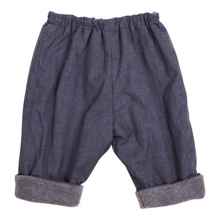 Kids Makié Makie Gasa Pants - Chambray Blue
