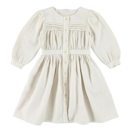 KIds Morley Karol Long Sleeved Dress - Modo Mist/Off White