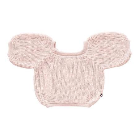 Kids Oeuf NYC Bubble Sweater - Light Pink