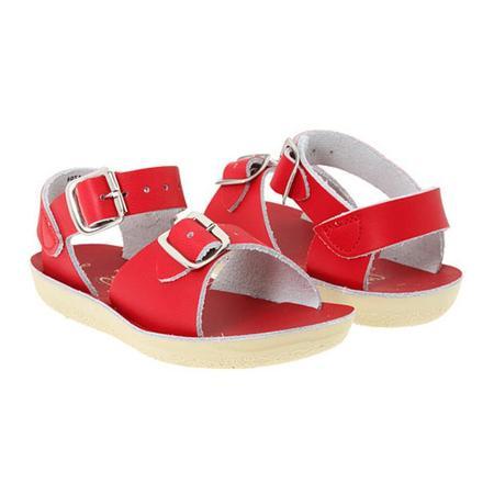 Kids Saltwater Surfer Sandals - Red
