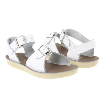 Kids Saltwater Surfer Sandals - White