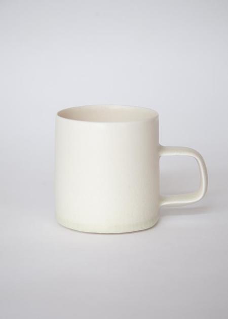 Dan Karvasales Porcelain Mug - Bone