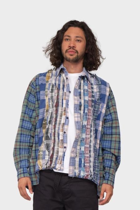 Needles Flannel Ribbon Shirt - Assorted