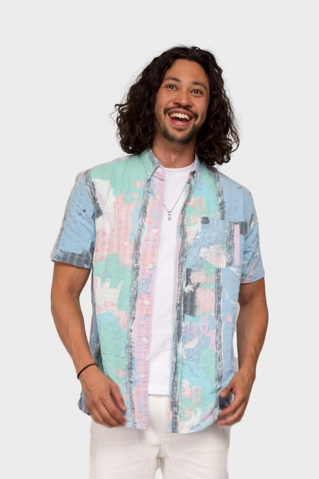 Pleasant 100% Upcycled Shirt - Multi
