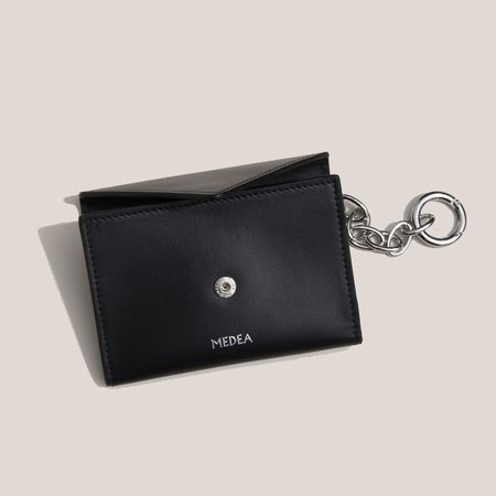 Medea Vanity Wallet - Black