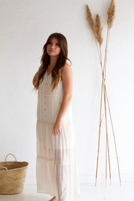 Descendant Crochet Garden Dress - Cream