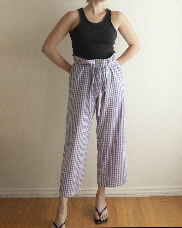 Vintage Comme de Garcons Gingham Easy Pant