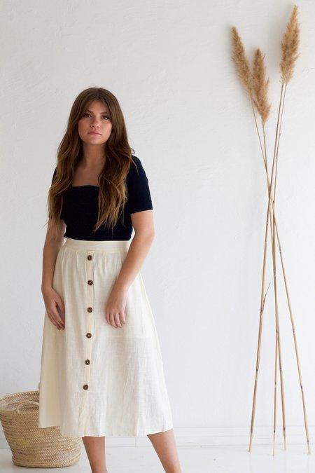 Descendant Sarah Skirt - Cream