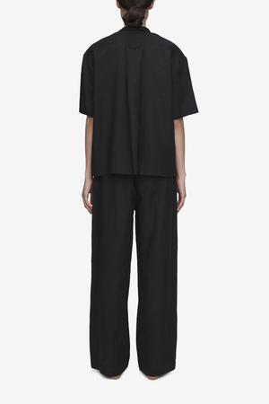 The Sleep Shirt Short Sleeve Cropped Sleep Shirt & Lounge Pant Set