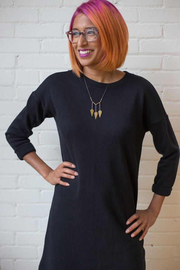 Hutchison Kate Dress - Black