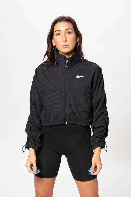 Nike Cropped Jacket - Black/White