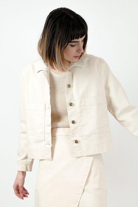 Micaela Greg Work Jacket - Cream