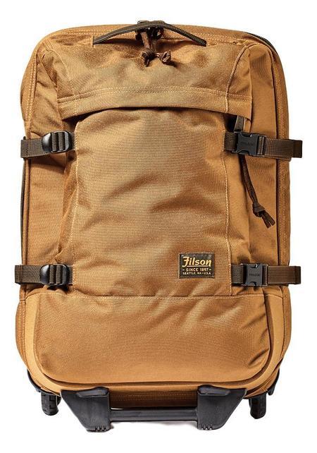 Filson Dryden 2 Wheel Carry On Bag - Whiskey