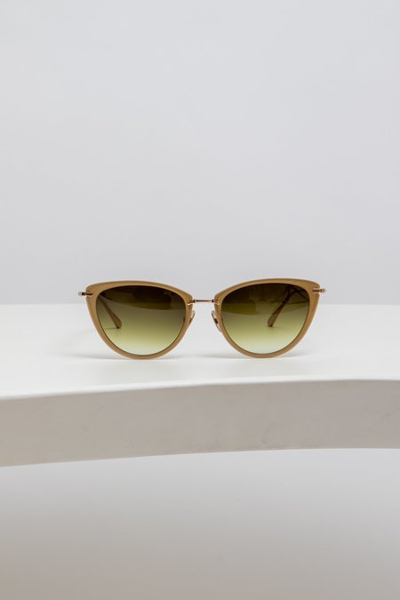 Mr. Leight Optical Beverly - Crescent Gold/Tan