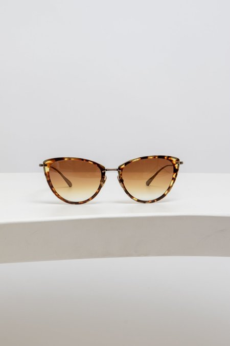 Mr. Leight Optical Beverly - Tortoise Antique