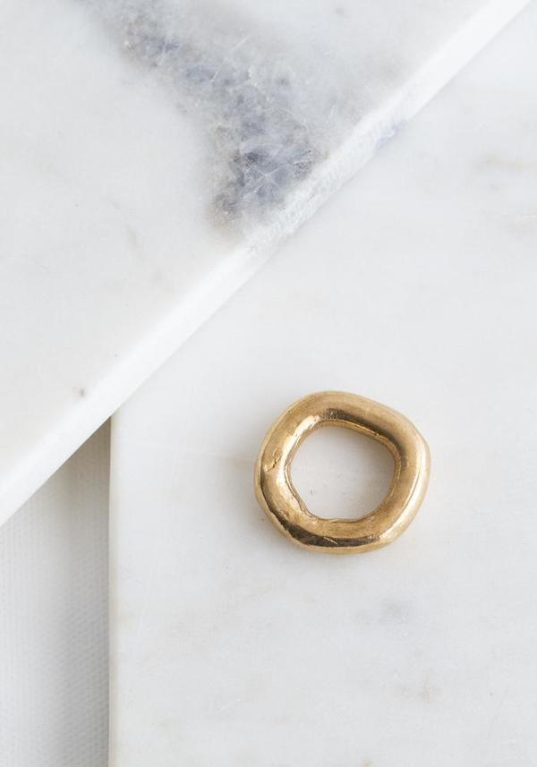 Miriam Nori Round Faith Ring