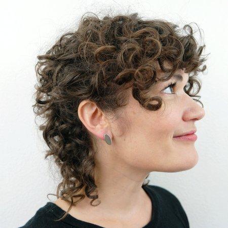 Mesa Tag Earrings - Sterling Silver