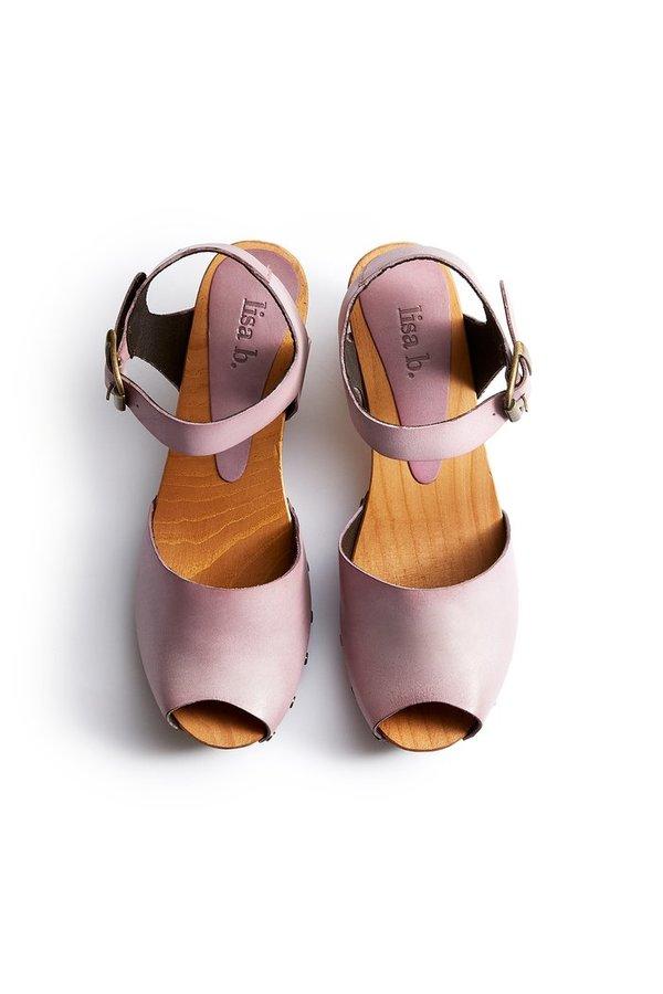 Lisa B. Peep Toe Clogs