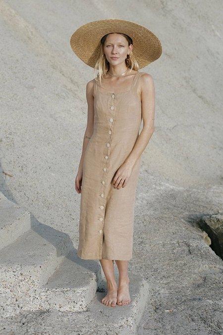 harly jae Provence Dress - Taupe