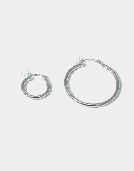 Cled Mix Match Earring Hoop - Sterling Silver