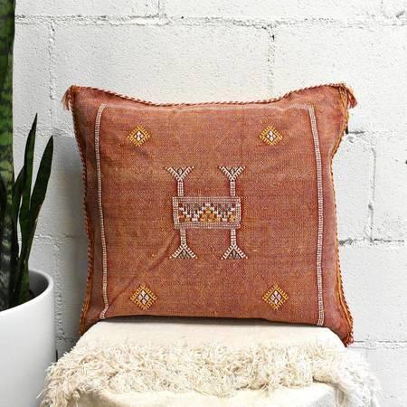 APT F Moroccan Cactus Silk Pillow