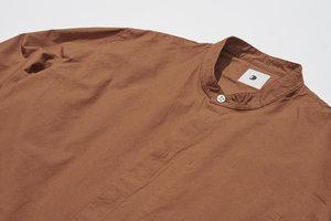 Delikatessen Cotton Zen Shirt - Rusty