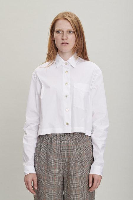 SS20 Relaxed Crisp White Shirt