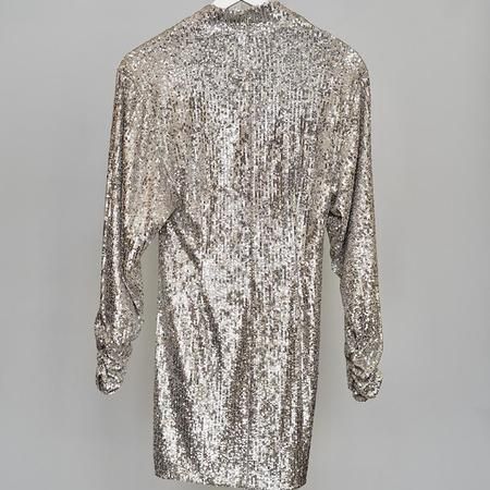 Ronny Kobo Lauper Dress - SILVER