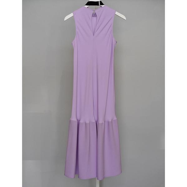 Tibi Modern Drape Sculpted Dress - MULBERRY