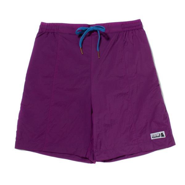 Real Bad Man Jungle Shorts - Purple