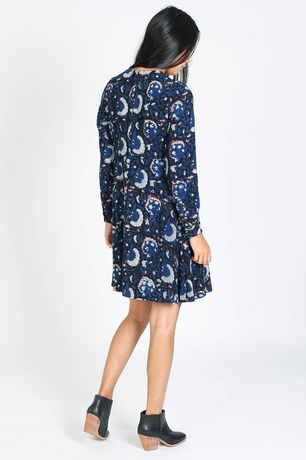 Antik Batik Valy minidress in blue