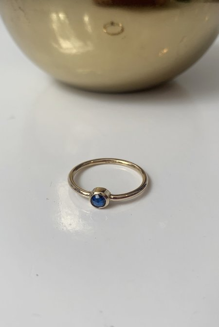 Christina Nicole Blue Sapphire Ring - 14k Gold Fill