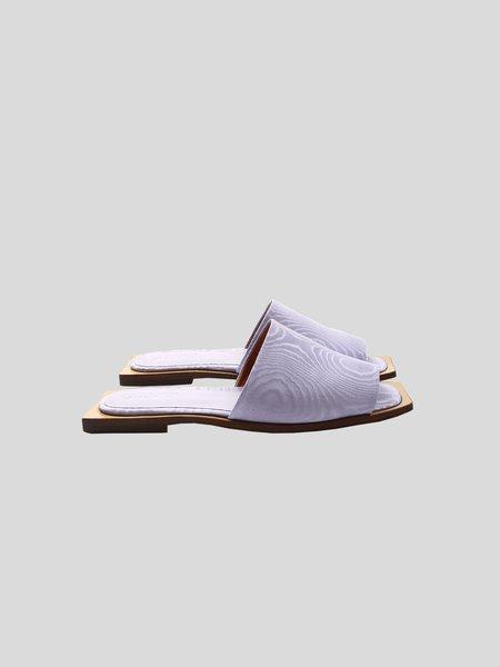Ganni Slipper Sandals - Violet Tulip