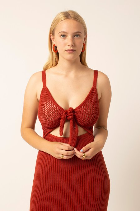 Kordal Caliente Dress - Paprika