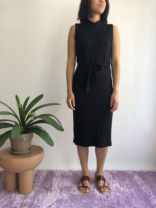 EVE GRAVEL GINGER DRESS - BLACK